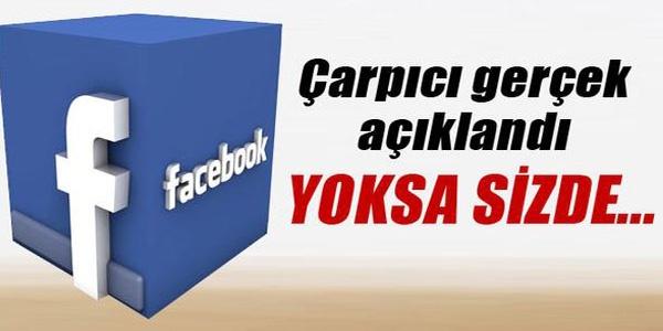 Facebook kullananlar DİKKAT!
