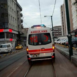 Sakarya 112 Ambulansı Kaza Yaptı
