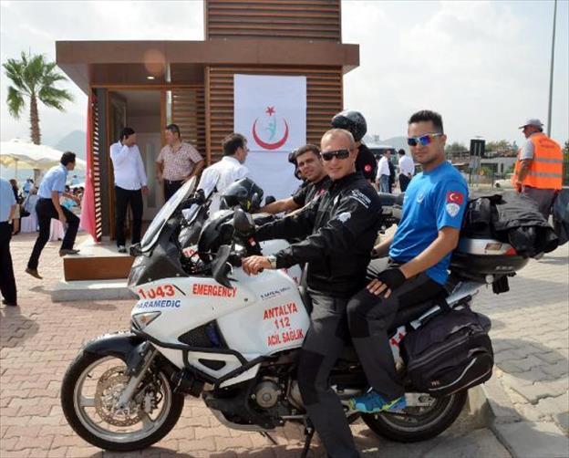 Motosiklet Ambulans Acil Sağlık Hizmetleri İstasyonu Açıldı