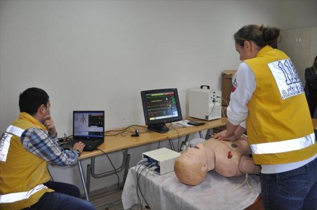 112 Personeline, Simülasyonda Hasta Eğitimi