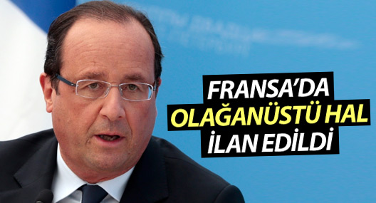 Fransa'da olağanüstü hal