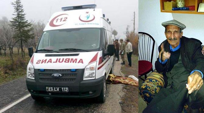 Eşi için gelen ambulans ölüme götürdü
