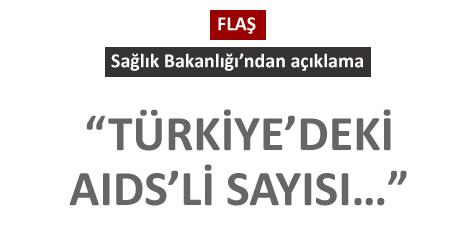 Türkiye'deki AIDS'li sayısı 6 bine yaklaştı