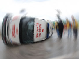 Sakarya'da ambulans takla attı