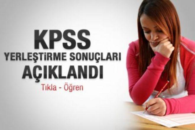 KPSS 2015/2 tercih sonuçları açıklandı Kasım atamaları
