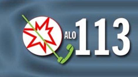 Bakanlığın Alo 113 Beyaz Kod web sayfası yayında