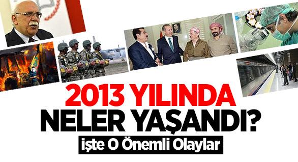 2013 Yılında Türkiye'de Neler Oldu?