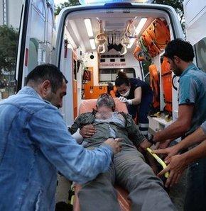 Gezi Parkı olayları 'Ambulansları' da vurdu