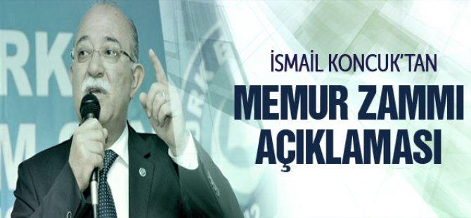 İsmail Koncuk'tan memur zammı açıklaması!
