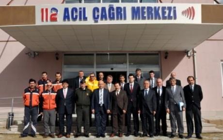 Afyonkarahisar'da 112 Acil Çağrı Merkezi Açılıyor