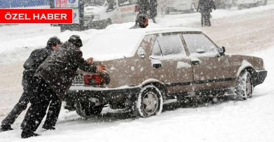 Soğukta araba çalıştırma yöntemleri
