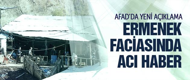 Ermenek faciasında son durum AFAD'dan açıklama