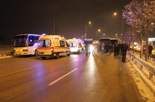 Bursa'da facia gibi kaza