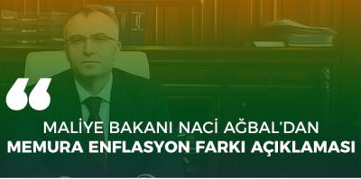 Emekli ve memur maaşlarına ek zam geliyor! Maliye Bakanı Naci Ağbal açıkladı...