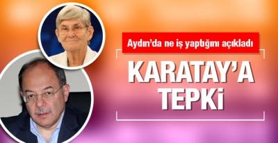 Akdağ'dan Canan Karatay'a tepki