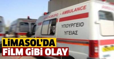 Alkollü Letonyalı ambulans çaldı
