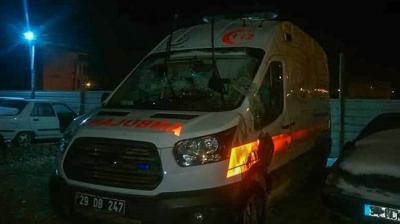 Ambulans Devrildi:3 Yaralı