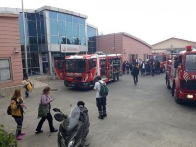 Ambulans Komuta Merkezi'nde Yangın Paniği
