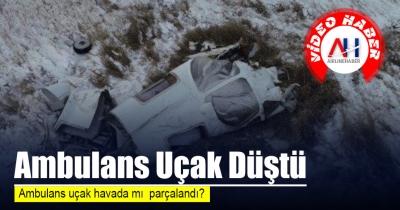 Ambulans Uçak Düştü