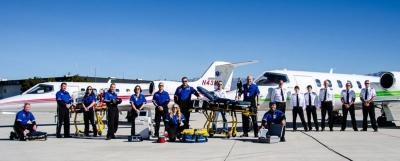Ambulans uçak düştü,3 mürettebat ve hasta hayatını kaybetti