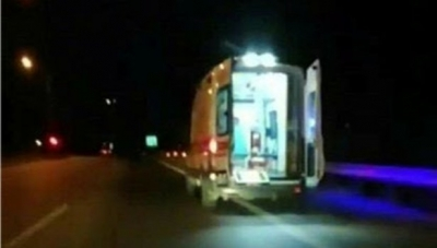 Ambulans Kaçırıldı