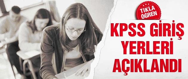 KPSS 2014 Lise ve önlisans giriş yerleri açıklandı!