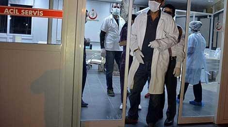 Sağlık çalışanlarına ikinci emre kadar maskeyle çalışın talimatı