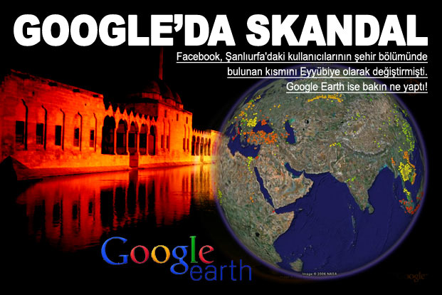 Google'da skandal! Kürdistan gösterdi