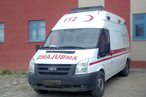 Denizli 112 Ambulansının Navigasyon Cihazı Çalındı