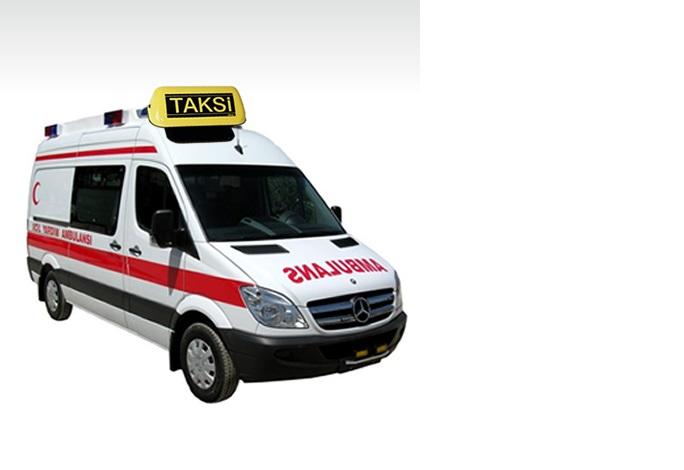 Sözün bittiği yer: Ambulans taksi!