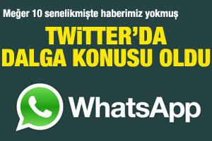Twitter'ı sallayan WhatsApp yalanı