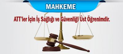 Bakanlığın Üst Öğrenim Haksızlığı Mahkemeden Döndü