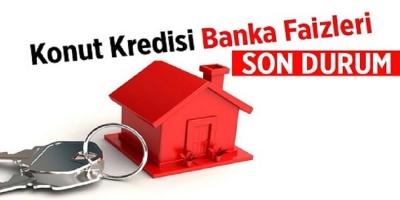 Banka banka konut kredi faizleri!