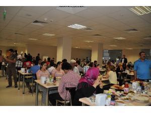 İl Sağlık Müdürlüğü Personeli İftar Yemeğinde Buluştu