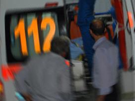 Bozüyük'te 112 Ambulansı Şarampole uçtu:2 yaralı