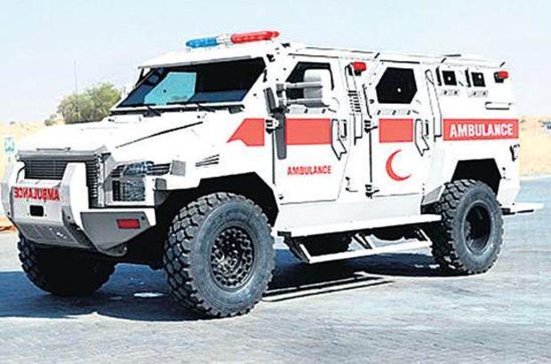 Diyarbakır'a zırhlı ambulans gönderildi