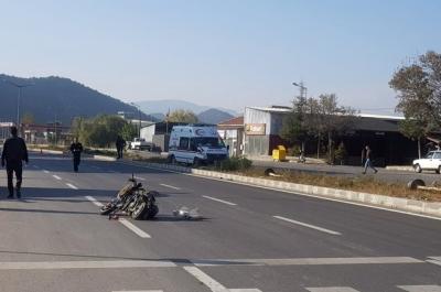 Ambulans ile Motosiklet Çarpıştı: 1 Ölü