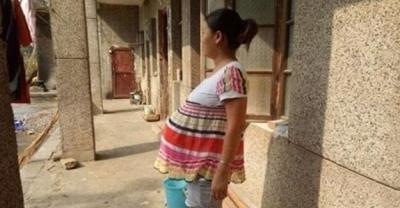 Bu kadın 1,5 yıldır hamile