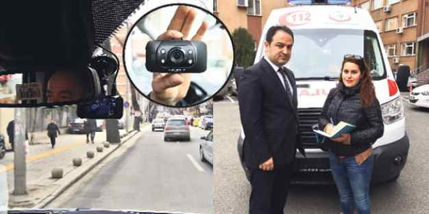 Ambulansa yol vermeyen araçlara 88 lira ceza
