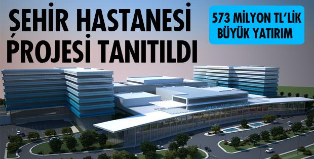 Isparta Şehir Hastanesi Projesi Tanıtıldı