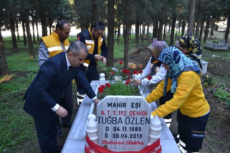 112 Personeli Meslektaşlarını Unutmadı