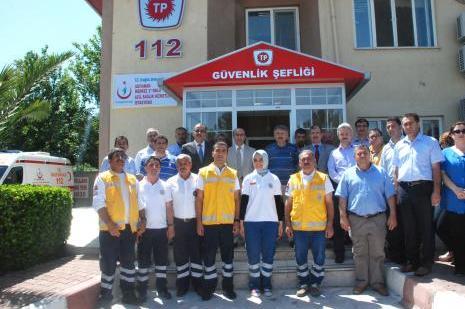 TPAO 112 Acil Sağlık İstasyonu açıldı