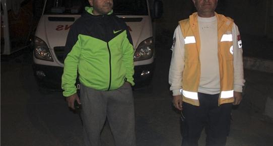 Ambulans şoförüne darp iddiası