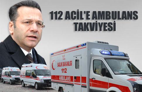 İl Özel İdaresi'nden 112'ye 7 Ambulans