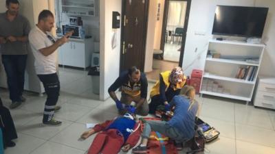 Çanakkale 112 Personeline Olay Yeri Eğitimi