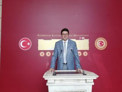 CHP'li Aytekin Radyoloji Teknikerlerinin Çağrısını Meclise Taşıdı