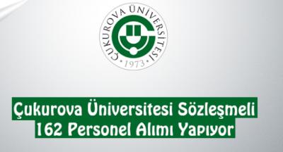 Çukurova Üniversitesi en az lise mezunu 162 sağlık personeli alımı yapıyor!