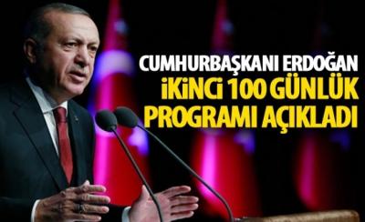 Cumhurbaşkanı Erdoğan, Sağlıkta ikinci 100 gün eylem planını açıkladı
