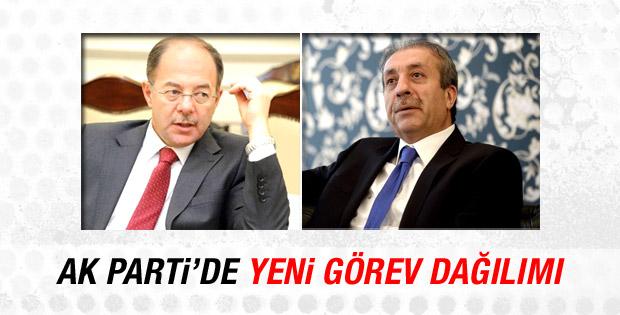 AK Parti'de yeni görev dağılımı belli oldu