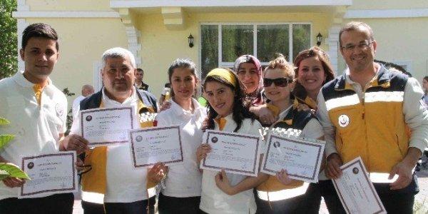Fethiye 112 Acil sağlık personeline teşekkür belgesi